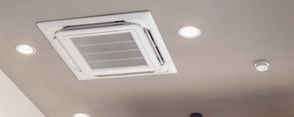 air conditioning system in a commercial setting