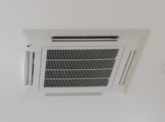 Ceiling-mounted air conditioning